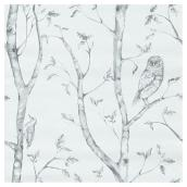 "Wallpaper - Forest - 20.5"" x 18' - Grey"