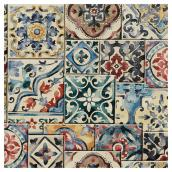 "Wallpaper-Marrakesh Style - 20.5"" x 33' - Red/Blue"