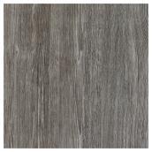 """Vinyle autocollant imitation de chêne, 17,75"""" x 66"""", gris"""