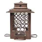 Stokes Bird Feeder - 830 g - Metal - Bronze