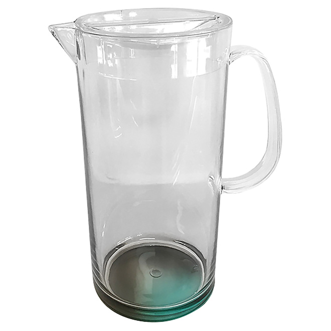 "Plastic Pitcher - 10 1/2"" - Clear"