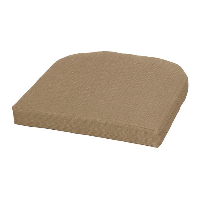Coussin de siège pour l'extérieur Style Selections, 20 1/2 po, neutre