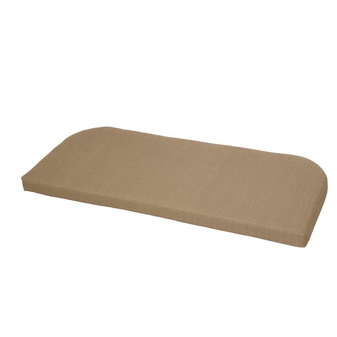 Coussin pour canapé d'extérieur Style Selections, 41 1/4 po, neutre
