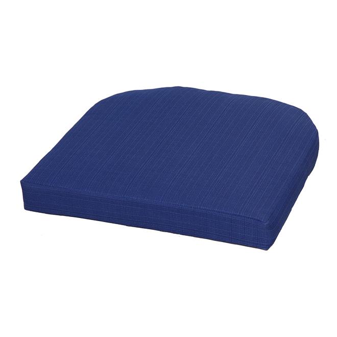 Coussin pour siège extérieur Style Selections, polyester, bleu-marine