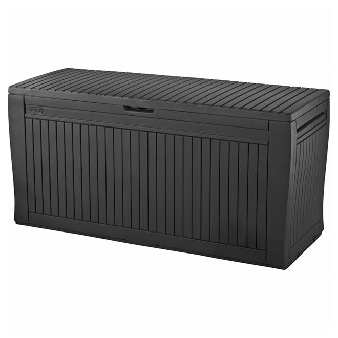 Comfy Outdoor Storage Box - Resin - 269 Litres - Grey