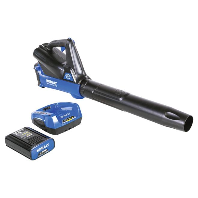 Souffleur Kobalt sans fil, 40 V Li-Ion - 350 pcm - 110 mi/h