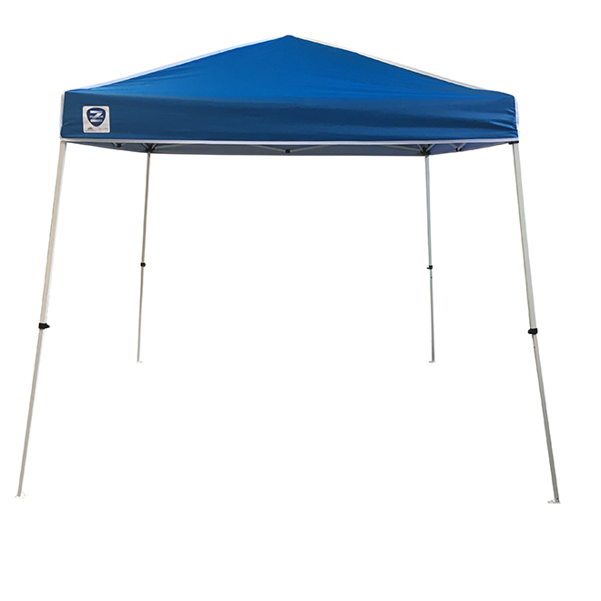 Pop-Up Temp - Z-Shade - 10' x 10' - White and Blue