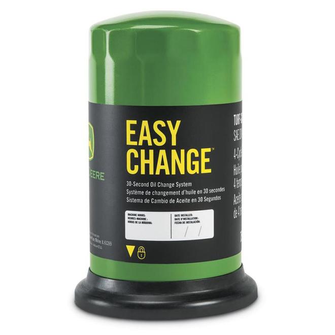 Easy Change Oil Filter with Oil John Deere 100 Series Tractors