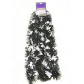 Ghosts Garland - 9' - PVC - Black and Silver