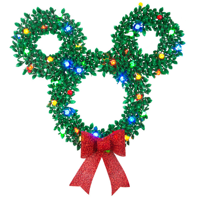 Disney Garland Wreath - Mickey Mouse - 30-in