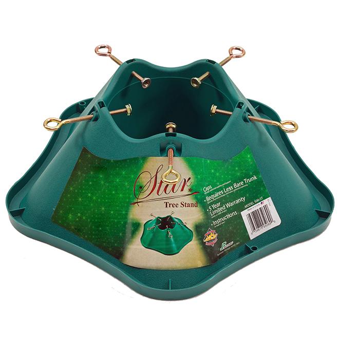 Support pour sapin de Noël, 6', plastique, vert 506 ST LCC | RONA