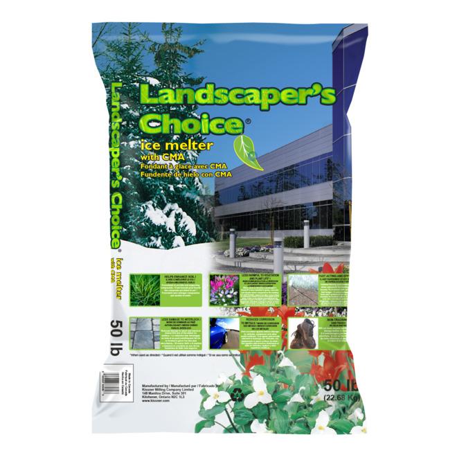 Déglaçant Landscaper's Choice, 50 lb