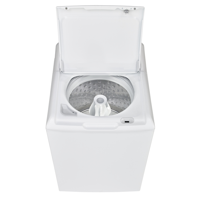Moffat Top-Load Washer with Agitator and Stainless Steel Tub - 4.4 cu. ft. - White