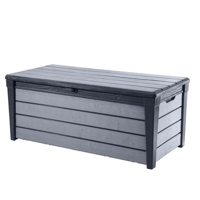 Brushwood Deck Box - 120 gal. - Resin - Anthracite