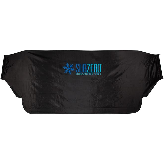 Sub Zero Windshield Cover - 60-in x 32-in - Black