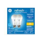Ampoules HD Relax à DEL de 100W blanc doux, A19, de GE