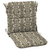 Style Selections Southwest Mid-back Chair Cushion - 36.5-in x 19.5-in - Tan