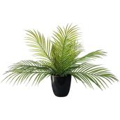 Danson Decor Plastic Palm Leaves - 20-in