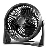 Utilitech Air Circulatory Fan - Plastic 8-in 3-Speed black