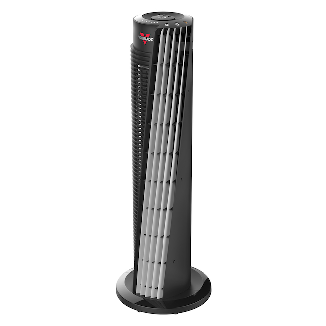 Vornado Tower 154 Fan - Plastic/Metal Black