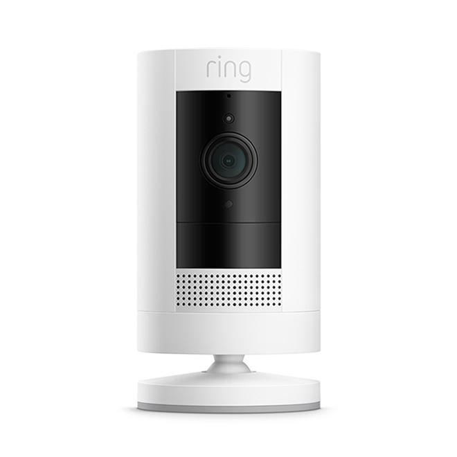 Ring Stick Up Camera - 1080p HD - White