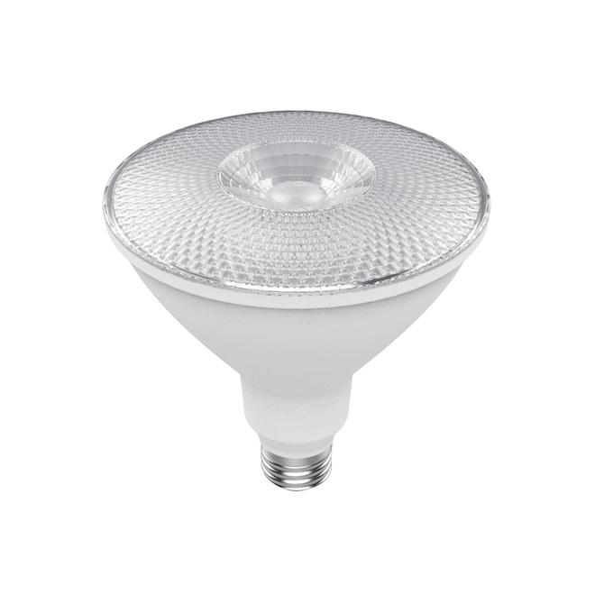 Ampoules d'extérieur DEL PAR38 de GE, 15 W équivalent à 90 W, blanc chaud, paquet de 2