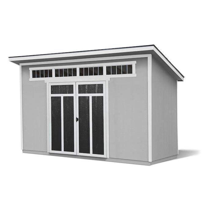 Heartland Soho Storage Shed - 12-ft x 8-ft - Wood