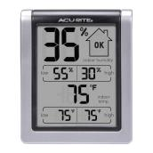 AcuRite Comfort Monitor with Temperature and Humidity Displays