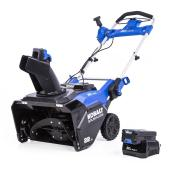 Kobalt 80V-22-in Single Stage Electric Cordless Snow Blower - 1 Battery Included