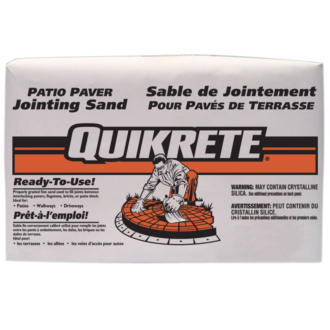 Patio Paver Jointing Sand - Grey - 36 kg