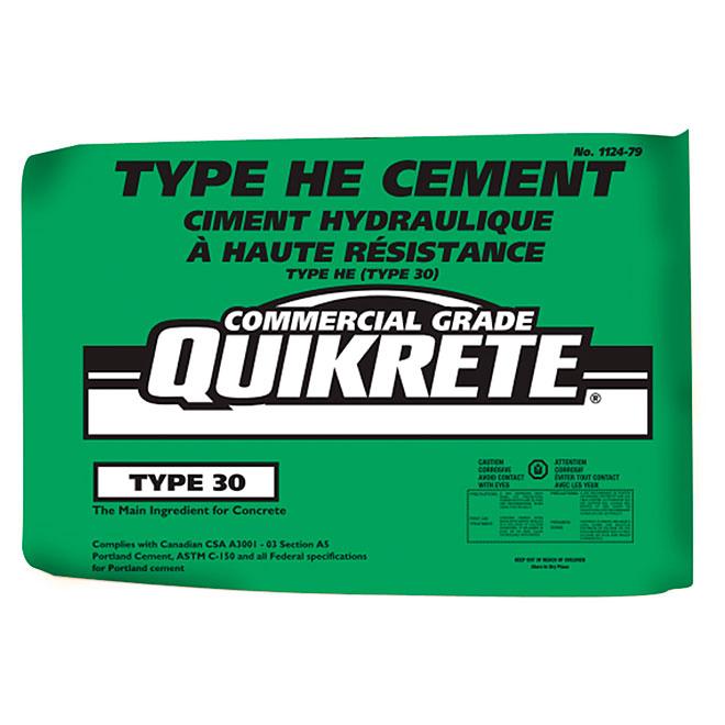 Ciment Portland à haute résistance initiale, type 30, 40 kg