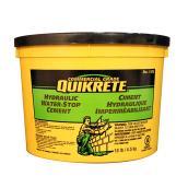 Ciment hydraulique imperméabilisant Eau-Stop de Quikrete, 4,5 kg