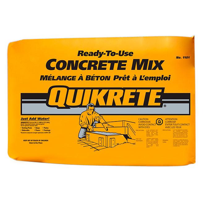 TARGET PRODUCTS Quikrete® Concrete Mix - 25 kg 110125 | RONA