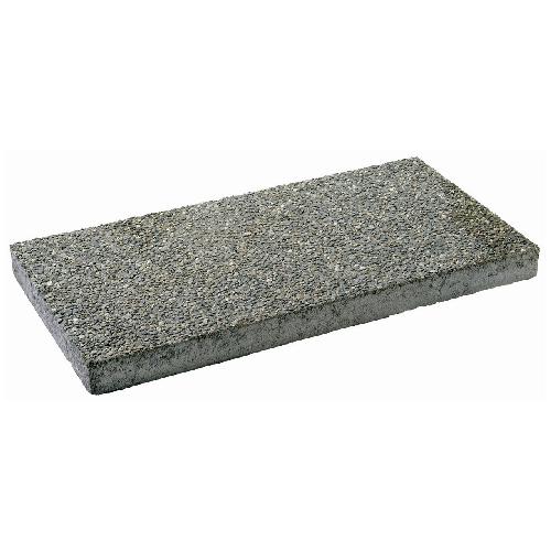 Dalle de béton avec agrégats exposés 12 po x 24 po, gris