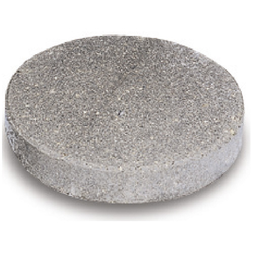 """Round"" Concrete Stepping Stone 12"" - Natural"