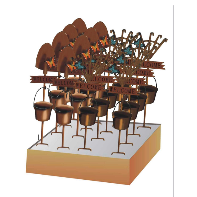 "Metal Garden Stake - 31"" - Assorted Designs"