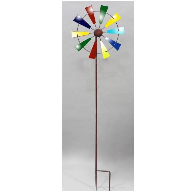 """Piquet de jardin, moulin à vent, 48"""""""