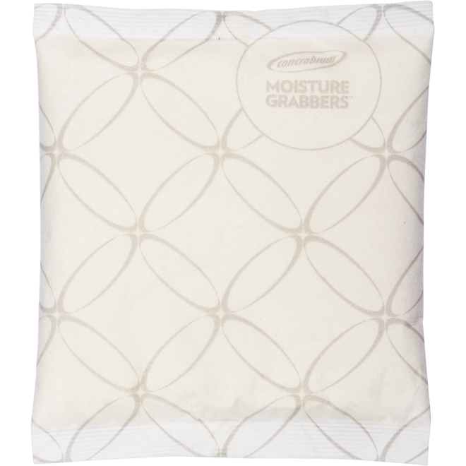 """Humidity-Absorbing Pouch - 8.66"""" x 7"""" x 0.78"""" - 3/Pk"""
