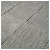 Dalle de patio 24 po x 24 po, anthracite