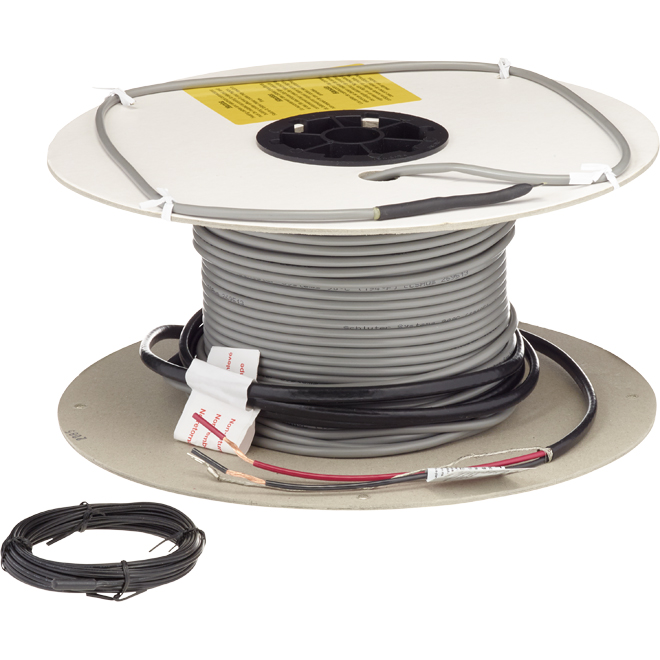 Heating Cable for Ditra-Heat Membrane - 282.1' - 240 V