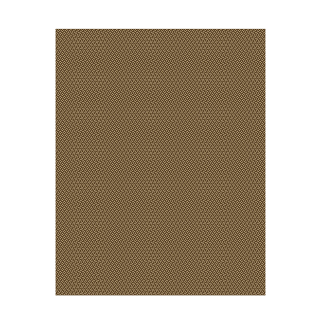 Allen + Roth Chantry Outdoor Rug - 8-in x 10-in - Brown