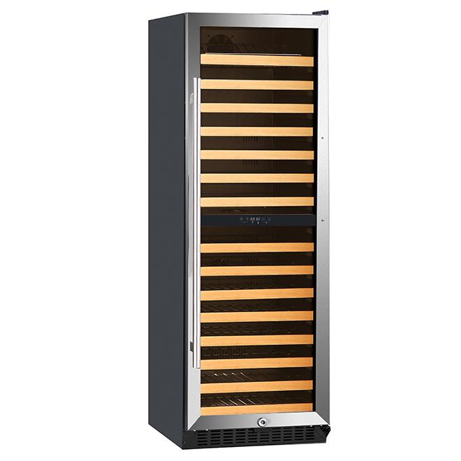 Wine Cooler with 2 Temperature Zones - 155 Bottles