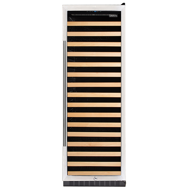 Wine Cooler - 166 Bottles - Stainless Steel