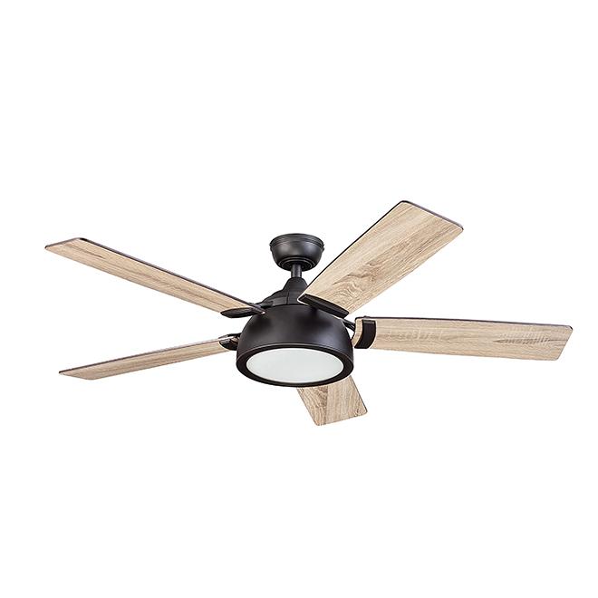 """Ceiling Fan - 5 Blades - 52"""" - 120 V - Bronze"""