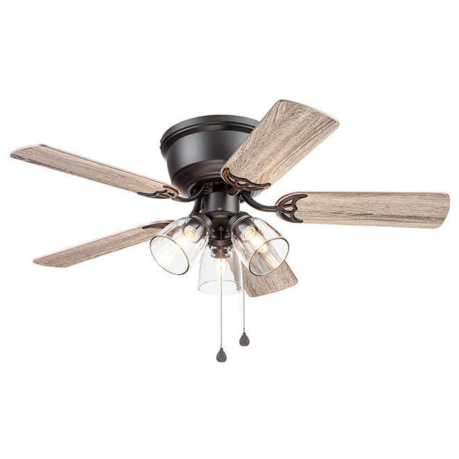 Harbor Breeze Ceiling Fan - 42-in - 5 Blades - 3 LED Lights
