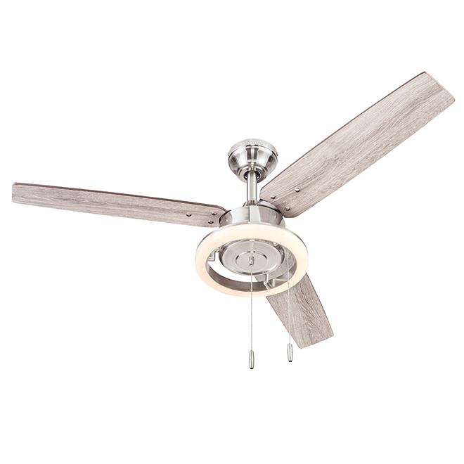 Ceiling Fan Harbor Breeze - 48-in - 3 Blades - 1 LED Light