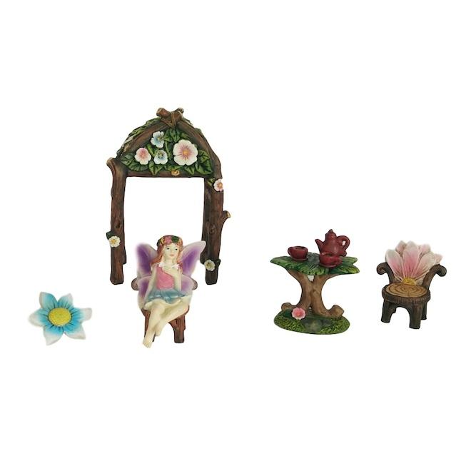 Garden Fairy Mini Set - Resin - 5/Pack