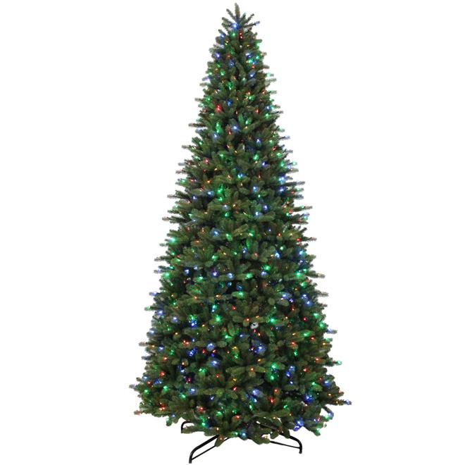 12' Illuminated Tree - 1200 LED Lights - 8 Functions