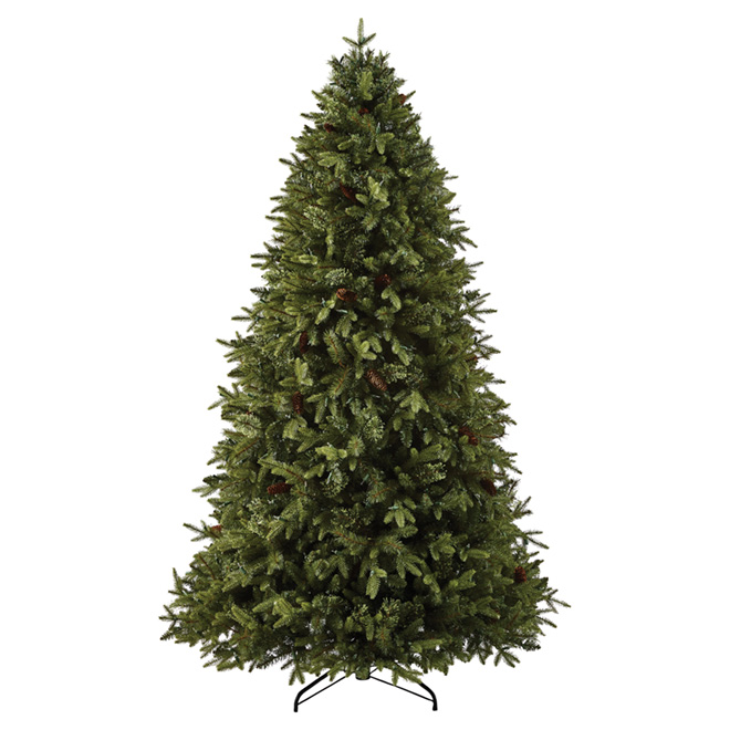 Living Christmas Tree.Pre Lit Hayden Christmas Tree 7 5 900 Lights