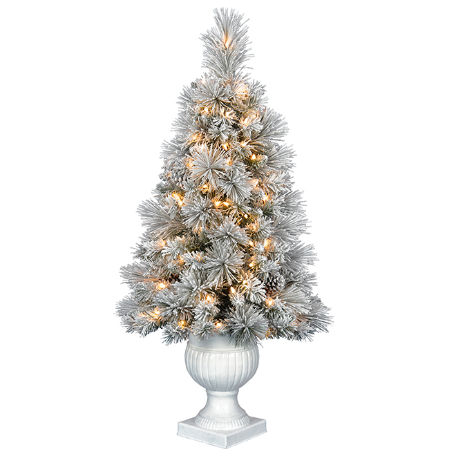 Holiday Living Potted Christmas Tree - Brinkley - 4'